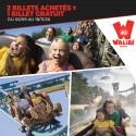 WALIBI - 2 Billets achetés, 1 billet GRATUIT