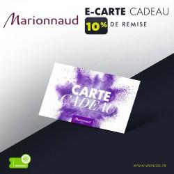 Réduction MARIONNAUD - E-Carte Cadeau &Wengel
