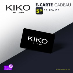 Rédution KIKO - E-Carte Cadeau &Wengel