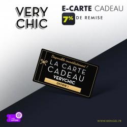 Réduction VERY CHIC - E-Carte Cadeau &Wengel
