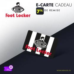 Réduction FOOT LOCKER - E-Carte Cadeau &Wengel