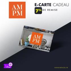 Réduction AMPM - E-Carte Cadeau &Wengel