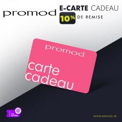 Réduction PROMOD - E-Carte Cadeau &Wengel
