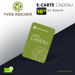 Réduction YVES ROCHER - E-Carte Cadeau &Wengel