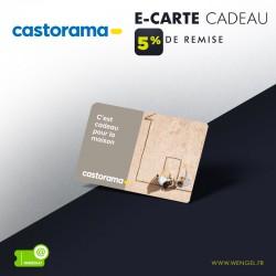 Réduction CASTORAMA - E-Carte Cadeau &Wengel