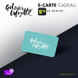 Réduction GALERIES LAFAYETTE - E-Carte Cadeau &Wengel