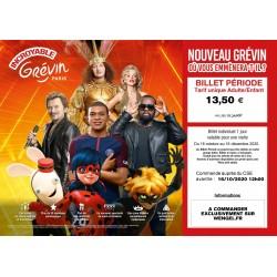 Promotion Musée GREVIN - Offre Automne 2020 &Wengel