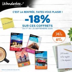 WONDERBOX - Promotion Rentrée