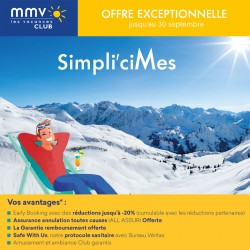 MMV - Early Booking Hiver