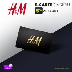 Réduction H&M - E-Carte Cadeau &Wengel