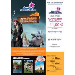 Promotion FRANCE MINIATURE Halloween &Wengel