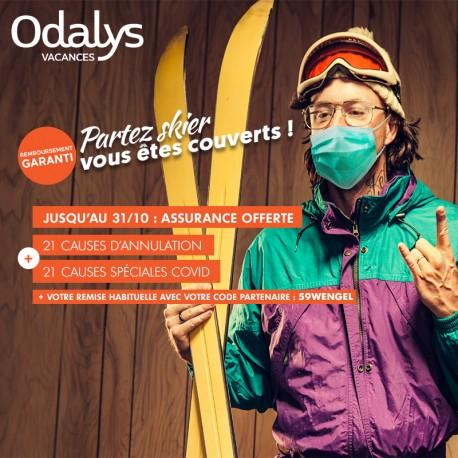 ODALYS - Partez skier vous êtes couverts