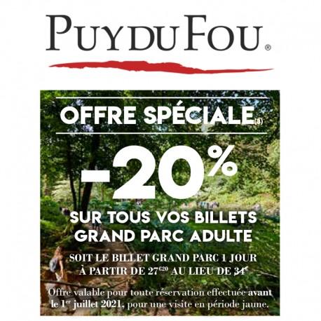 PUY DU FOU - Offre Spéciale 2021 &Wengel