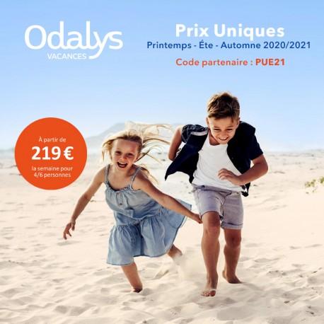 ODALYS - Prix Uniques Printemps Été