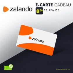 Réduction ZALANDO - E-Carte Cadeau &Wengel