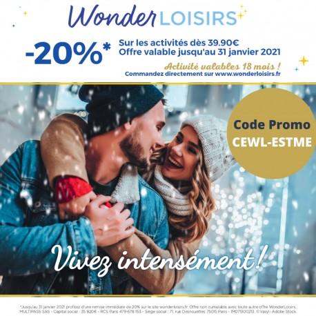 WONDERLOISIRS - 20% sur le site