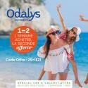 ODALYS - 1 Semaine achetée la 2° OFFERTE