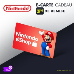 Réduction NINTENDO E-Shop - E-Carte Cadeau &Wengel