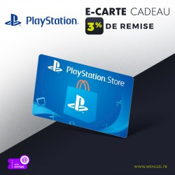 Réduction PLAYSTATION Store - E-Carte Cadeau &Wengel