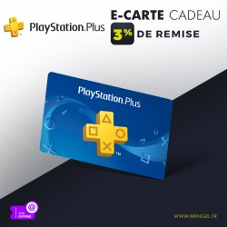 Réduction PLAYSTATION Plus - E-Carte Cadeau &Wengel