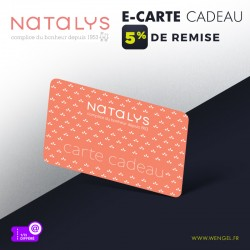 Réduction NATALYS - E-Carte Cadeau &Wengel