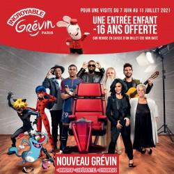 Promotion GREVIN - 1 Billet acheté, 1 Enfant Gratuit Printemps 2021 &Wengel