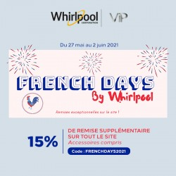 WHIRLPOOL - French Days 2021