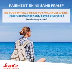 LA FRANCE DU NORD AU SUD - Offre Spéciale 4X Sans Frais
