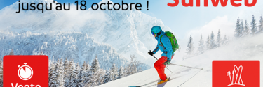 SUNWEB Vente Flash Ski Octobre 2018