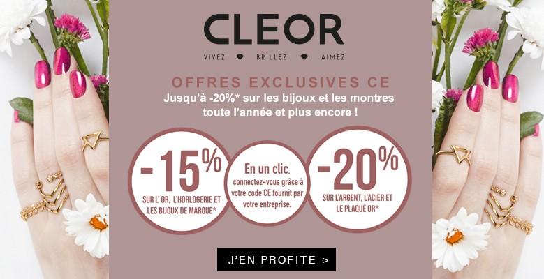 Profitez de remises en magasin et sur cleor.com