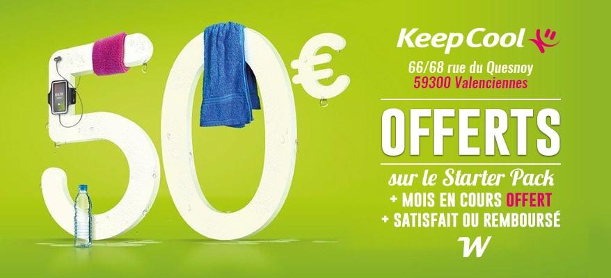 50€ offerts sur le starter pack