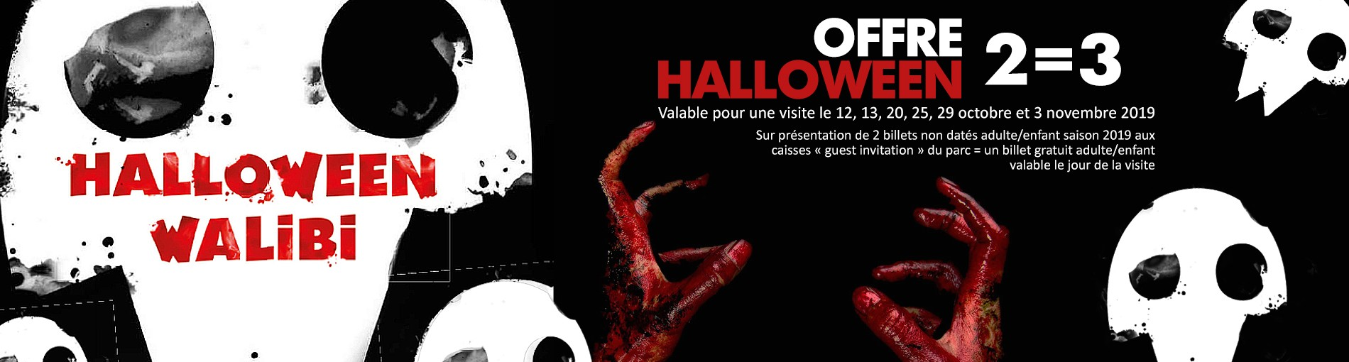 Halloween 2019 - offre 2=3